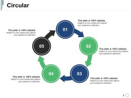 Circular Ppt Slide Examples