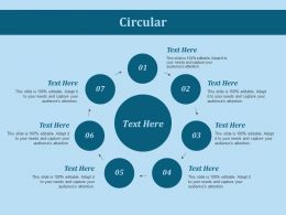 Circular Ppt Slides Example