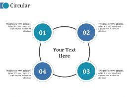 Circular Ppt Slides Show