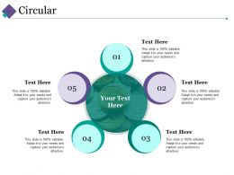 Circular Ppt Slides Visuals