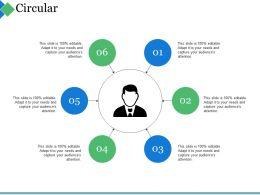Circular Ppt Summary Examples