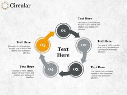 Circular Ppt Summary Graphics Pictures