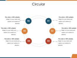 Circular Ppt Templates