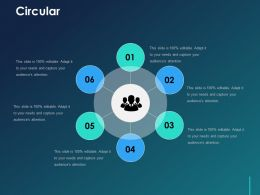 Circular Ppt Visual Aids Pictures