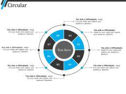Circular Presentation Powerpoint