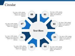 Circular Presentation Powerpoint Templates