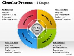 Circular Process 4 Stages 23