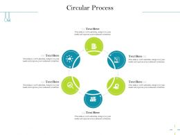 Circular Process Attention M2543 Ppt Powerpoint Presentation Pictures Outfit