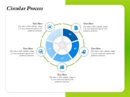 Circular Process Audiences Attention Editable Ppt Powerpoint Presentation Infographics