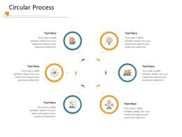 Circular Process M3402 Ppt Powerpoint Presentation Infographics Guidelines