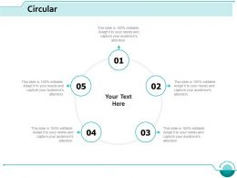 Circular Process Marketing Ppt Slides Example Introduction
