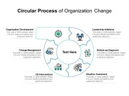 Circular Process Of Organization Change