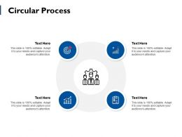 Circular Process Ppt Powerpoint Presentation File Slides