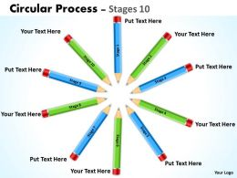 Circular Process Stages 6