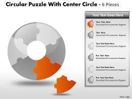 Circular Puzzle diagram 15