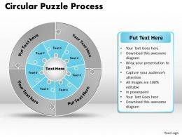 circular_puzzle_flowchart_templates_process_diagram_9_Slide09