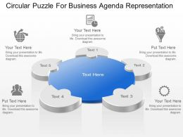 Powerpoint puzzle templates puzzle presentation slides ppt circular puzzle for business maxwellsz