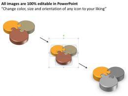 59925633 Style Puzzles Triangular 1 Piece Powerpoint Presentation Diagram Infographic Slide