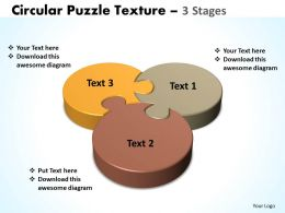 circular puzzle texture 3 stages templates 10