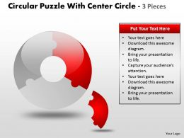 Circular Puzzle With Pieces ppt 14