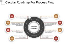 Circular Roadmap For Process Flow Good Ppt Example