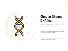 Circular Shaped DNA Icon