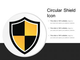 Circular Shield Icon