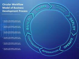 Circular Workflow Model Of Business Development Process