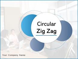 Circular Zig Zag Process Marketing Competitive Analysis Research Strategies