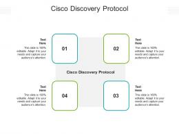 Cisco Discovery Protocol Ppt Powerpoint Presentation Gallery Designs Download Cpb