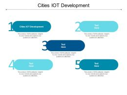 Cities Iot Development Ppt Powerpoint Presentation Styles Images Cpb