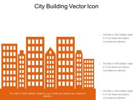 City Building Vector Icon