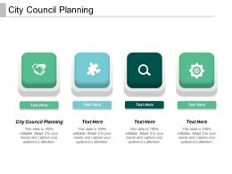 City Council Planning Ppt Powerpoint Presentation File Graphics Cpb