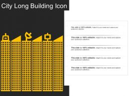 City Long Building Icon