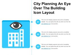 City Planning An Eye Over The Building Icon Layout