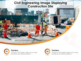 Civil Engineering Image Displaying Construction Site