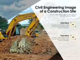 Civil Engineering Image Of A Construction Site
