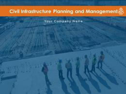 Civil Infrastructure Planning And Management Complete Deck