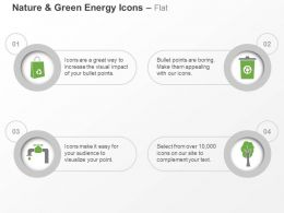 Cj Four Icons For Green Energy Water Air Paper And Waste Management Ppt Icons Graphics