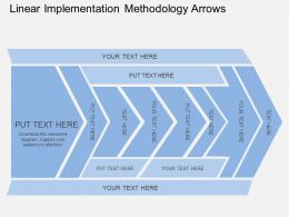 cl_linear_implemention_methodology_arrows_flat_powerpoint_design_Slide01