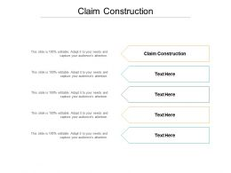Claim Construction Ppt Powerpoint Presentation Summary Graphics Download Cpb