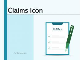 Claims Icon Business Application Document Insurance Arrow Product
