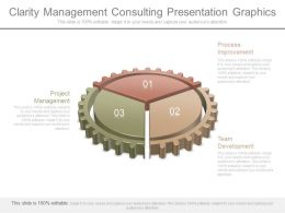 Clarity Management Consulting Presentation Graphics