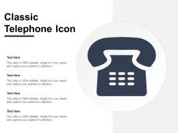 Classic Telephone Icon
