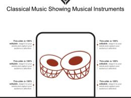 Classical Music Showing Musical Instruments