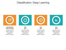 Classification Deep Learning Ppt Powerpoint Presentation Slides Backgrounds Cpb