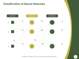 Classification Of Neural Networks Hidden Layer Ppt Powerpoint Presentation Styles Diagrams