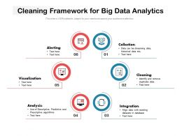 Cleaning Framework For Big Data Analytics