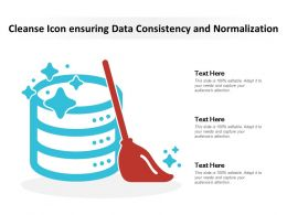 Cleanse Icon Ensuring Data Consistency And Normalization