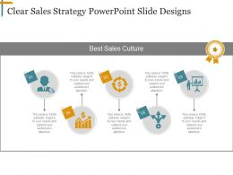 Clear Sales Strategy Powerpoint Slide Designs
